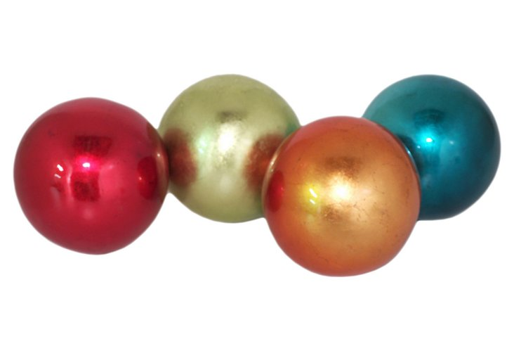 Large Ceramic Orbs, Asst. of 4