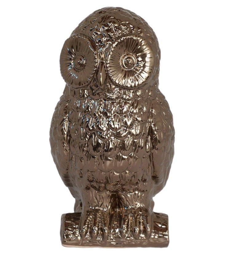 "12"" Bronze Owl"