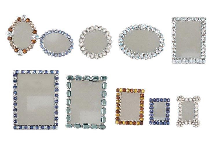 Asst. of 10 Jeweled Frames