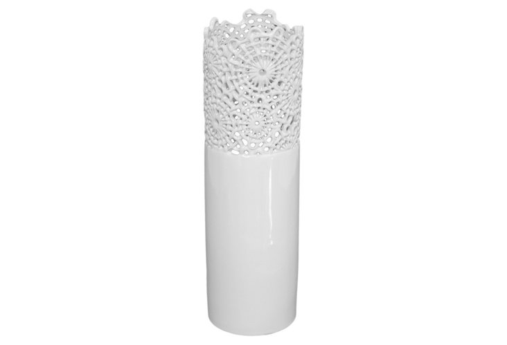 "14"" Web Vase"