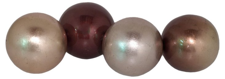 "3"" Pearl Orbs, Asst. of 4"