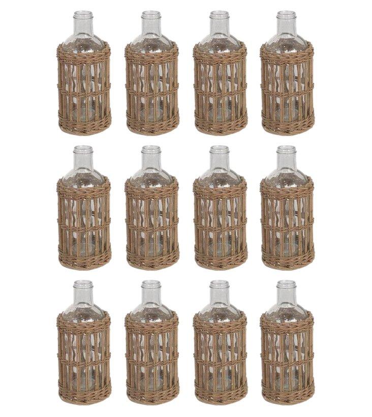 Cargo Bottles, Asst. of 12