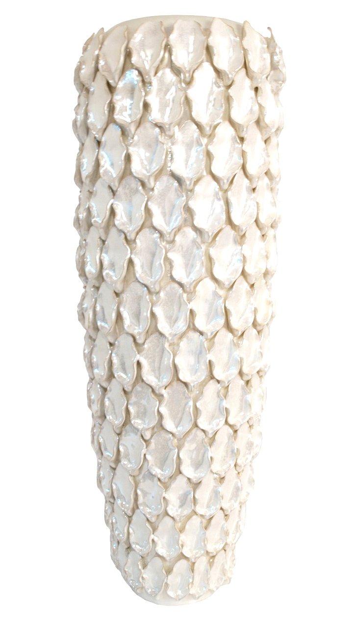 "25"" Pearl Petal Vase"
