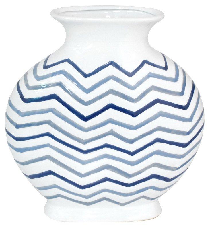 """12"""" Zigzag Vase"""