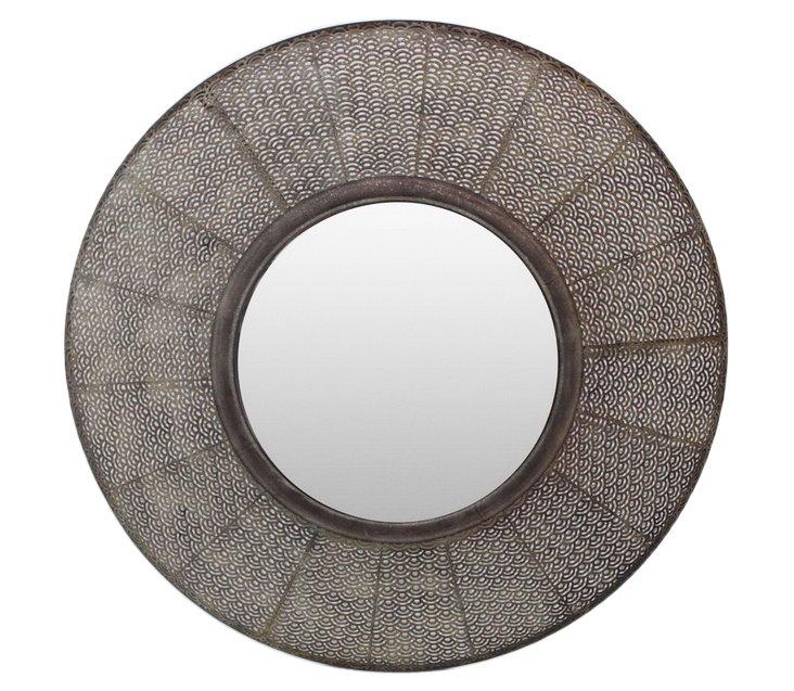 "36"" Pierced Frame Mirror"