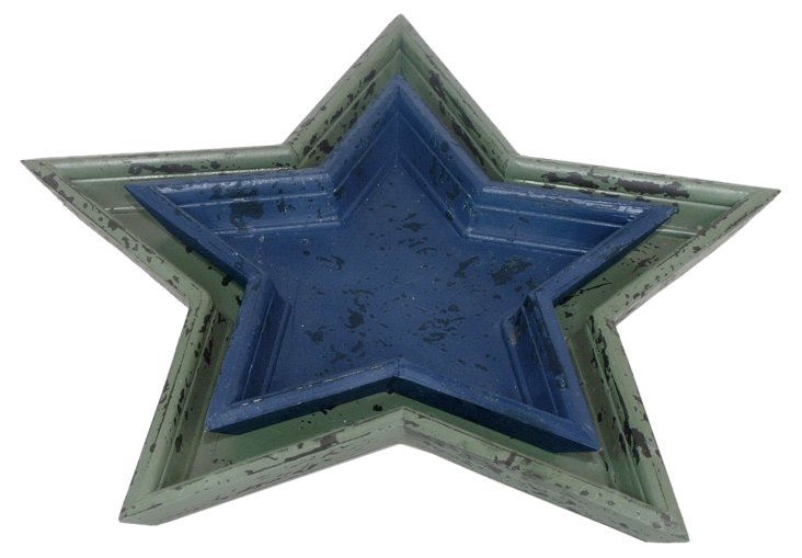 Star Nesting Trays, Asst. of 2