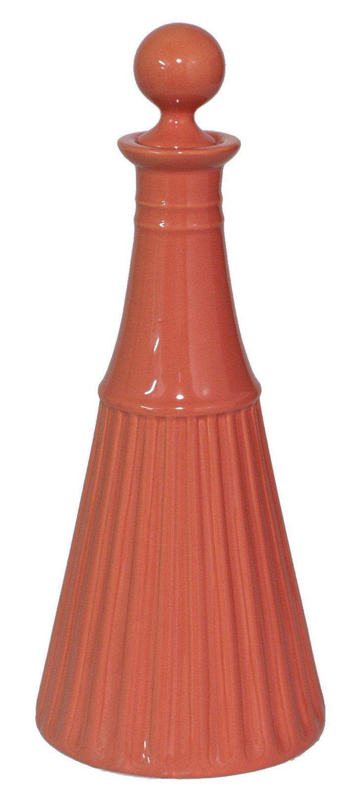 """13"""" Bottle Decoration, Orange"""