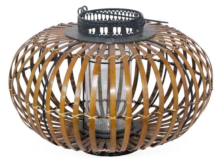 "17"" Bamboo Lantern"