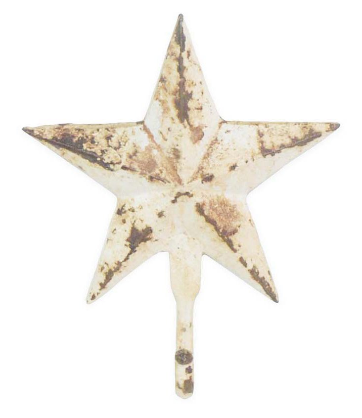 Cast-Iron Star Wall Hook