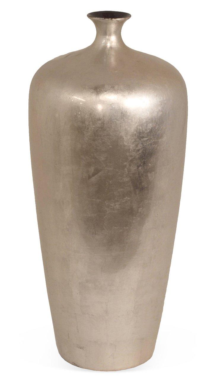 """20"""" Lacquered Ceramic Vase"""