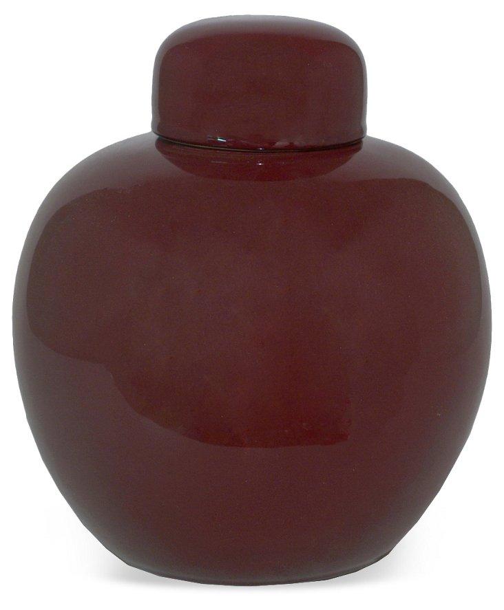 "13"" Urn, Red"