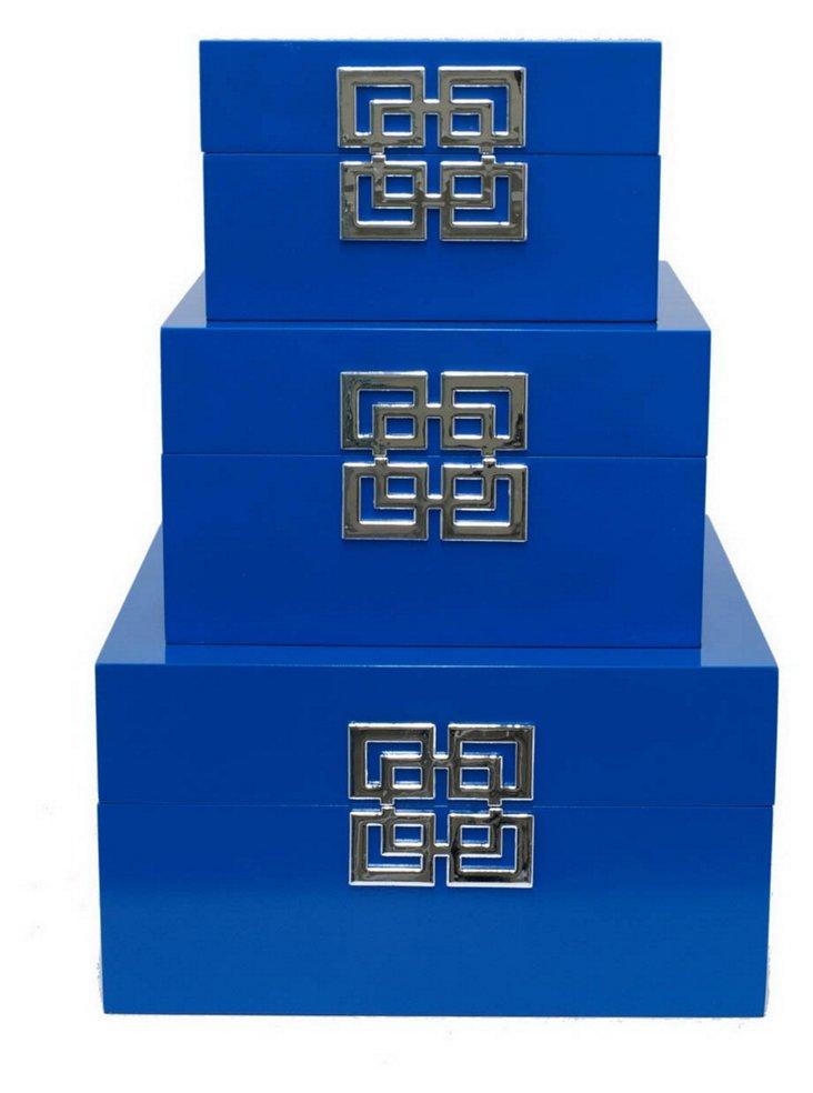 Cobalt Boxes, Asst. of 3