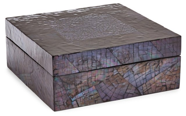 "11"" Midnight Mosaic Box"