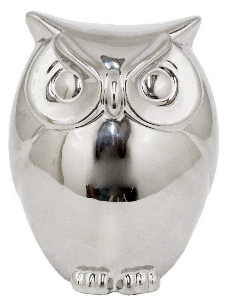 "7"" Owl Candleholder"