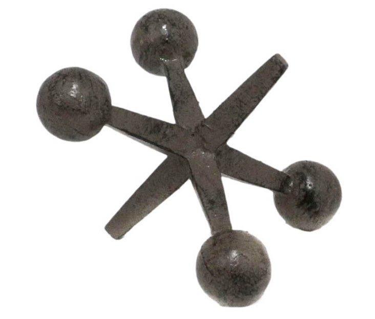 "5"" Metal Jax Decoration, Brown"