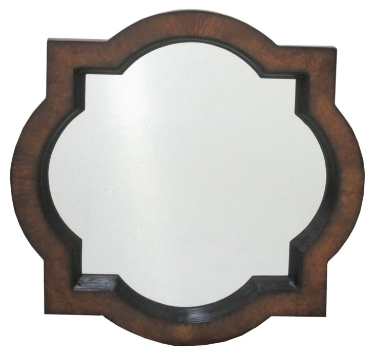 Jackson Wall Mirror, Brown