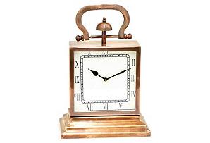 """15"""" Table Clock, Copper*"""