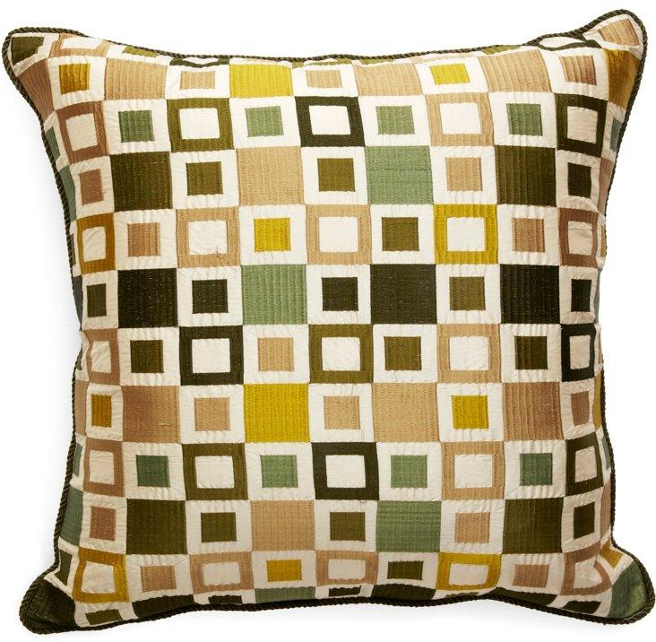 Custom Geometric Pillow