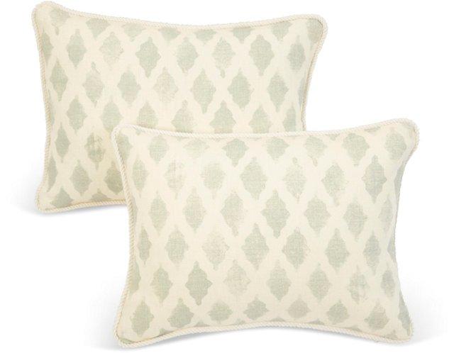 Michael Devine Venice Pillows, Pair
