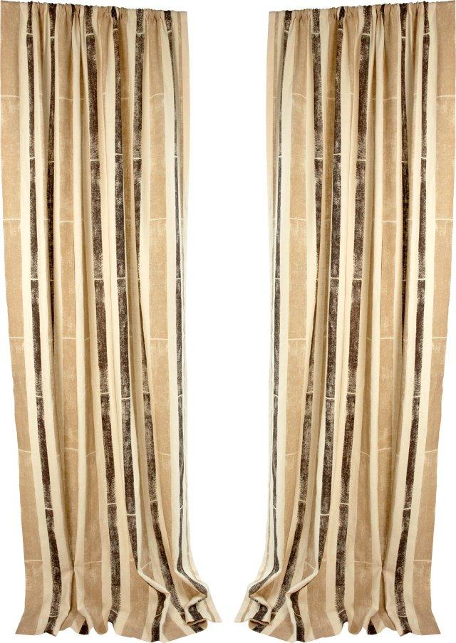 Michael Devine Pavilion Curtains, Pair