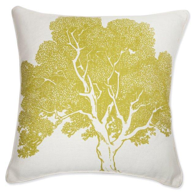 Beech 18x18 Pillow, Corn