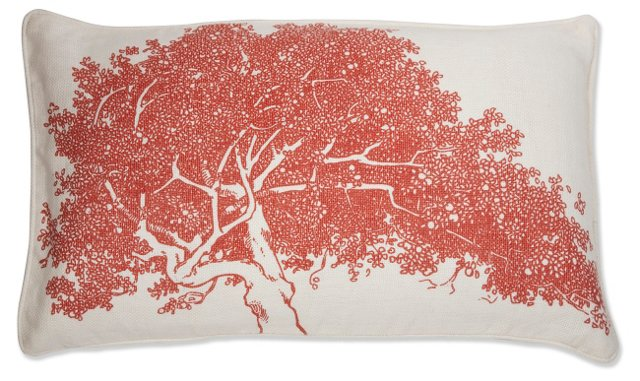 Maple 12x20 Pillow, Paprika