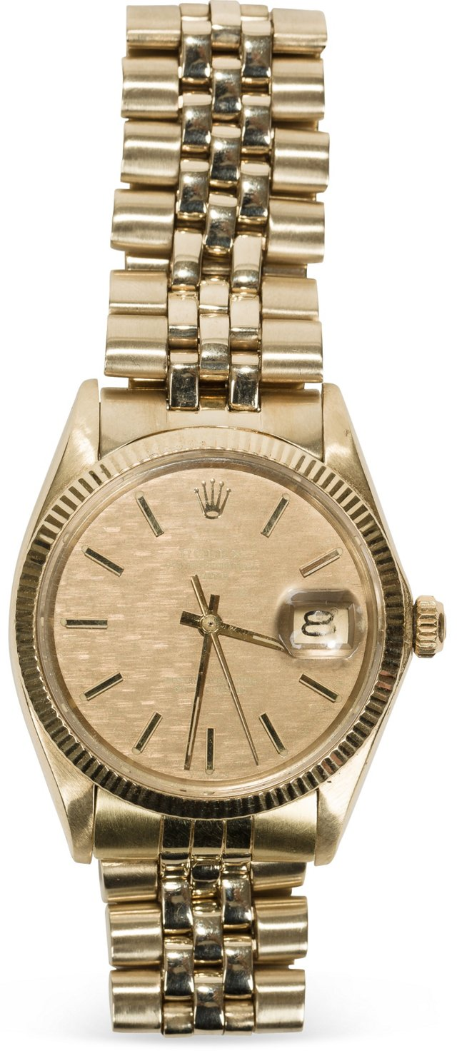1972 Yellow Gold Rolex Date
