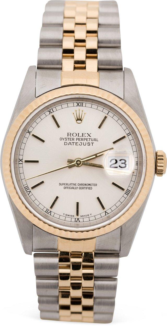 1989 Rolex Datejust, Satin Dial