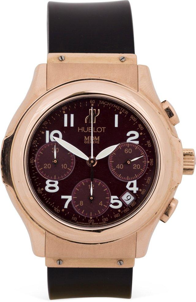 18K Pink Gold Hublot Chronograph