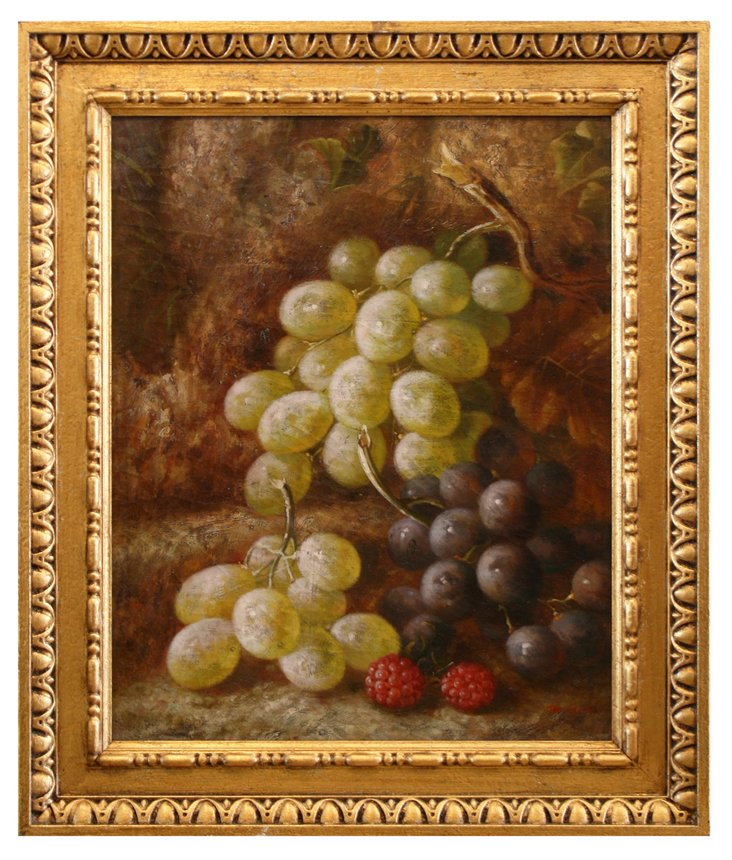 Grapes and Raspberries