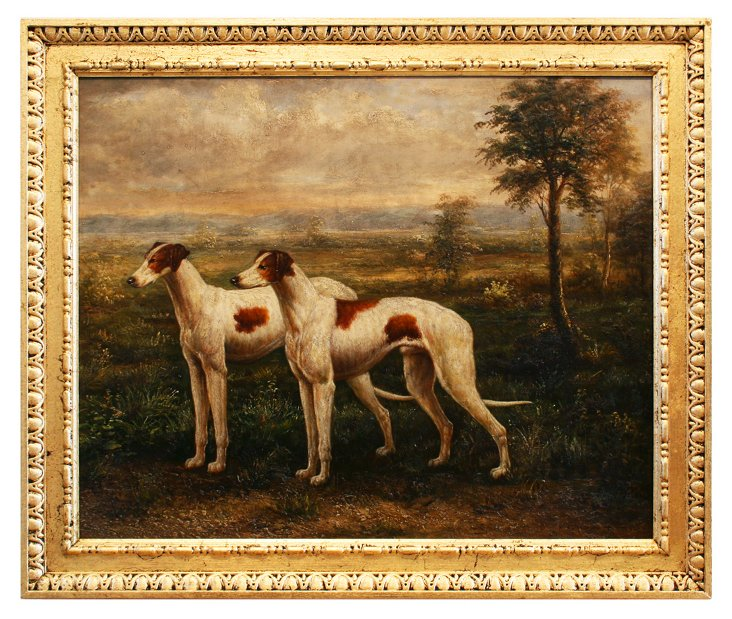 Dogs in Landscape