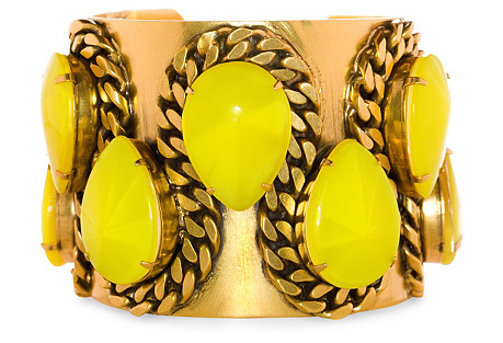 Delphine Cuff, Yellow
