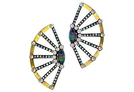 Jun Fan Burst Earrings