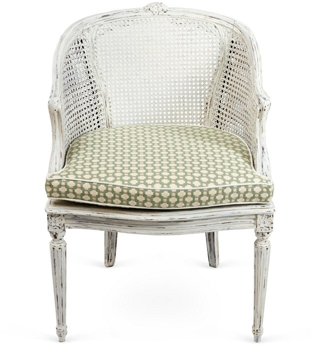 Betwixt French Cane Chair