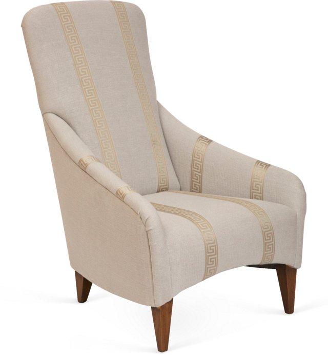 Greek-Key Chair
