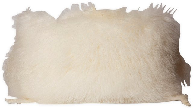 Sheep Skin Pillow