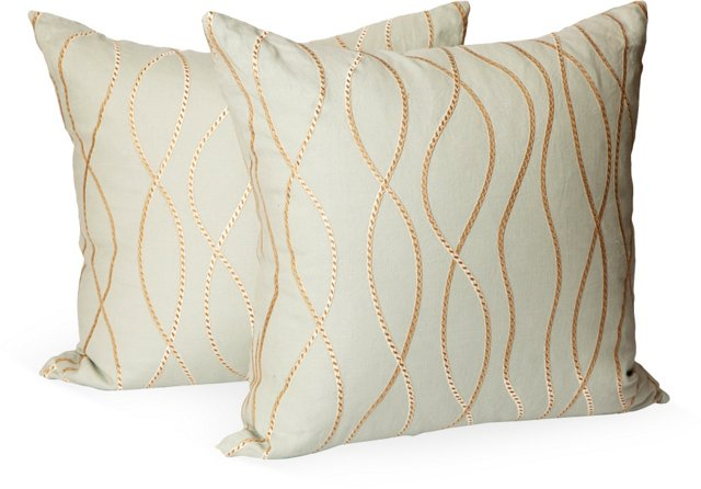 Tendresse by Threads Pillows, Pair I