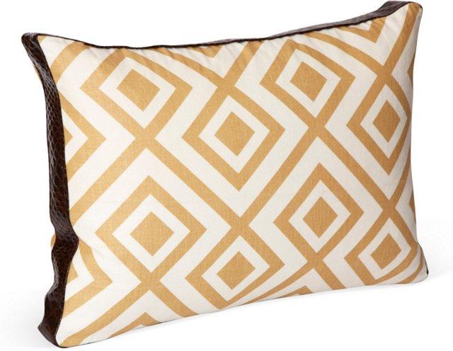 Diamond Lumbar Pillow
