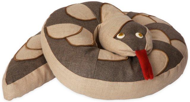 Snake Charm Pillow