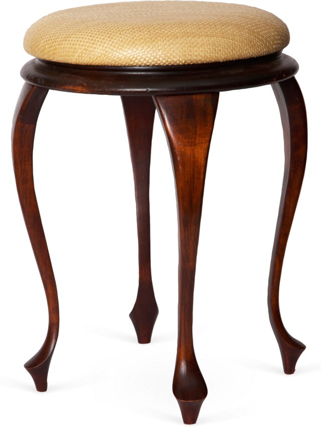 Queen Anne-Style Stool
