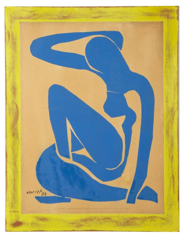 Reproduction Matisse Painting
