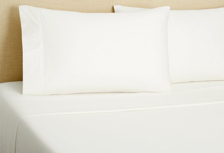 Cal King PerfectCale® Sheet Set, White