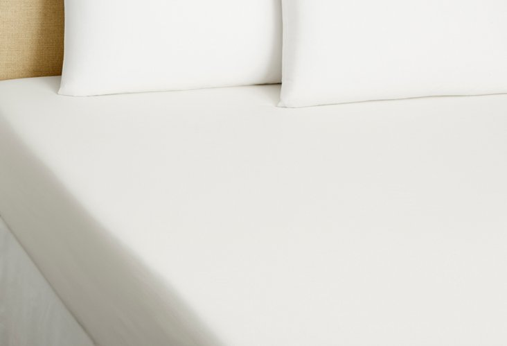 Queen Fitted Sheet, White