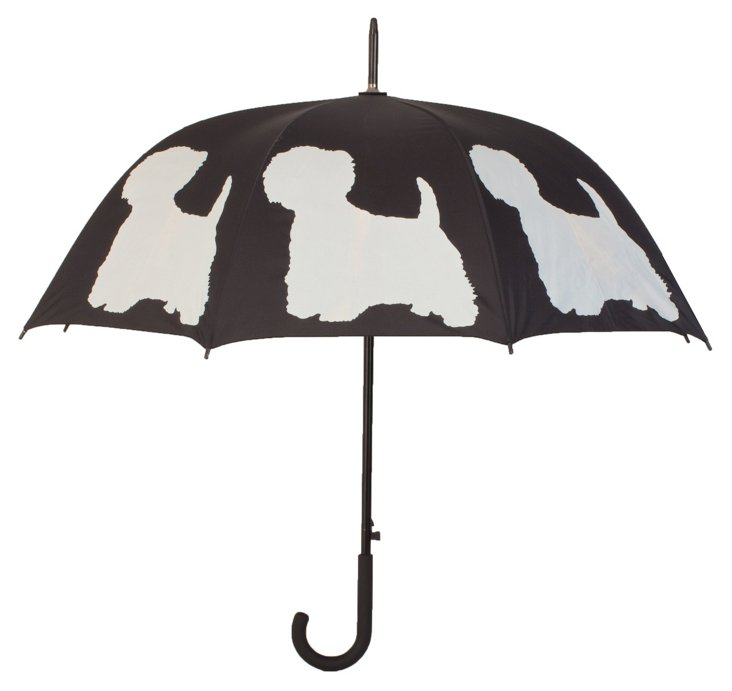 Walking Stick Umbrella, Westie