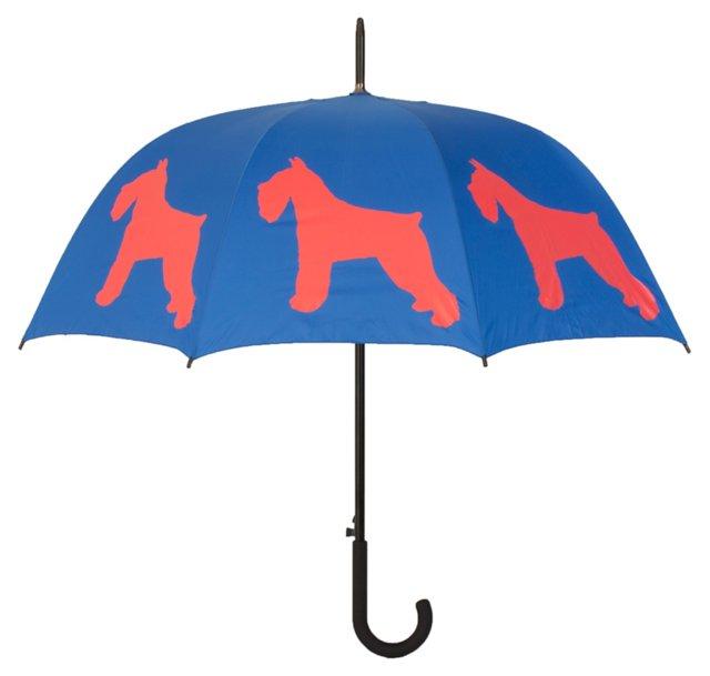 Walking Stick Umbrella, Schnauzer