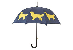 Cane Umbrella, Golden Retriever