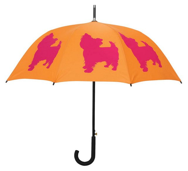 Walking Stick Umbrella, Yorkshire Terr