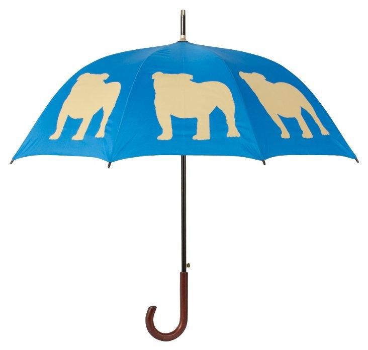 Walking Stick Umbrella, English Bulldog