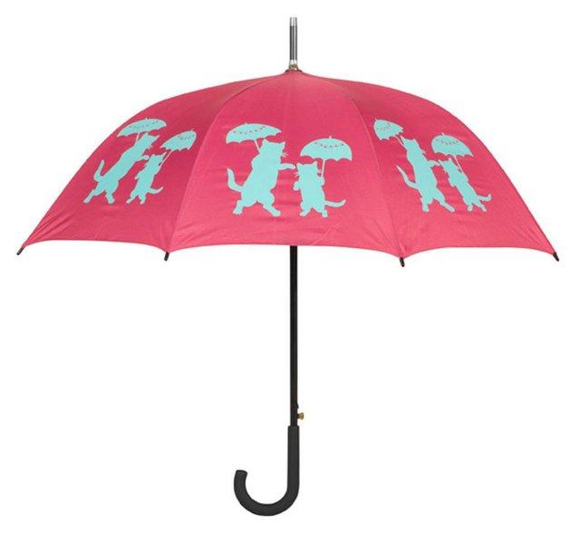 Cane Umbrella, Cats w/ Umbrellas