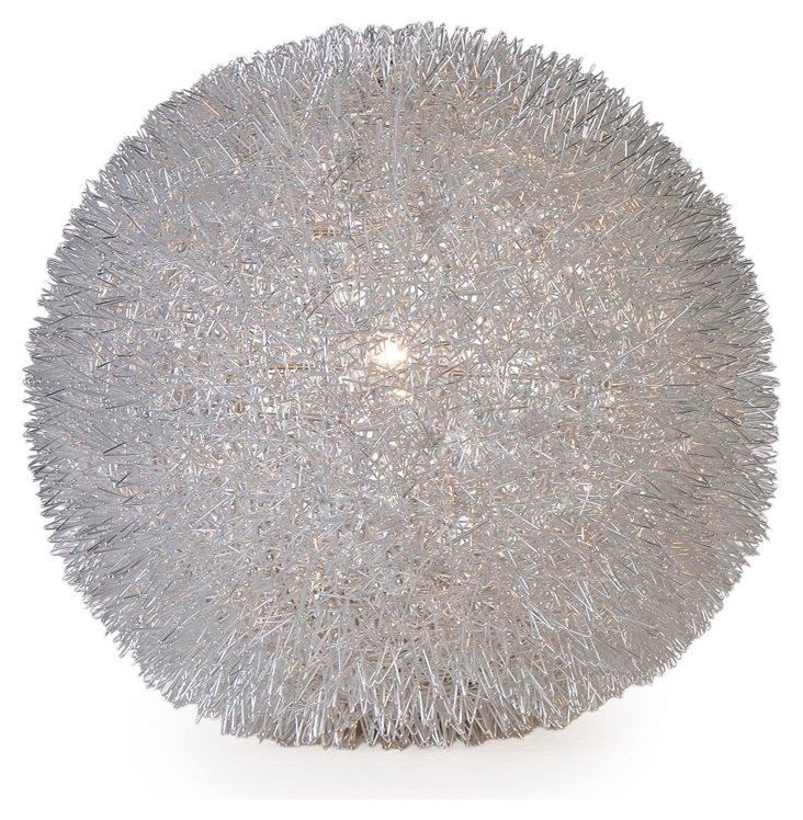 Luminary Table Lamp, Silver